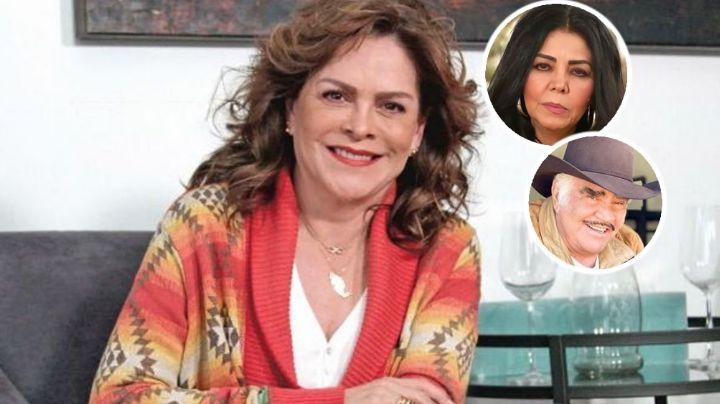 Mara Patricia Castañeda reacciona a las acusaciones de Lupita Castro contra Vicente Fernández
