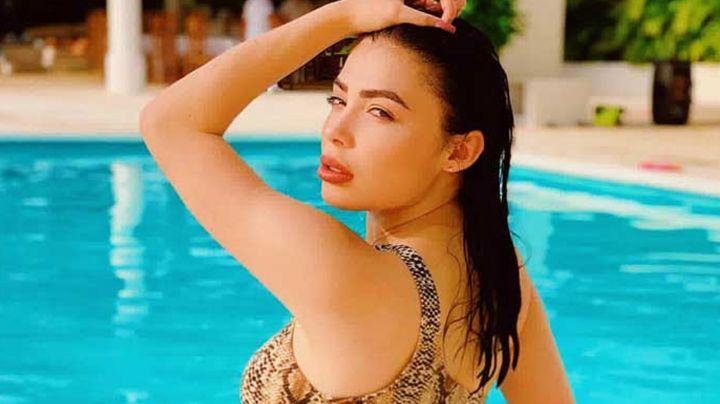 FOTO: Tracy Sáenz cautiva todos en Instagram al posar con tremendo vestido