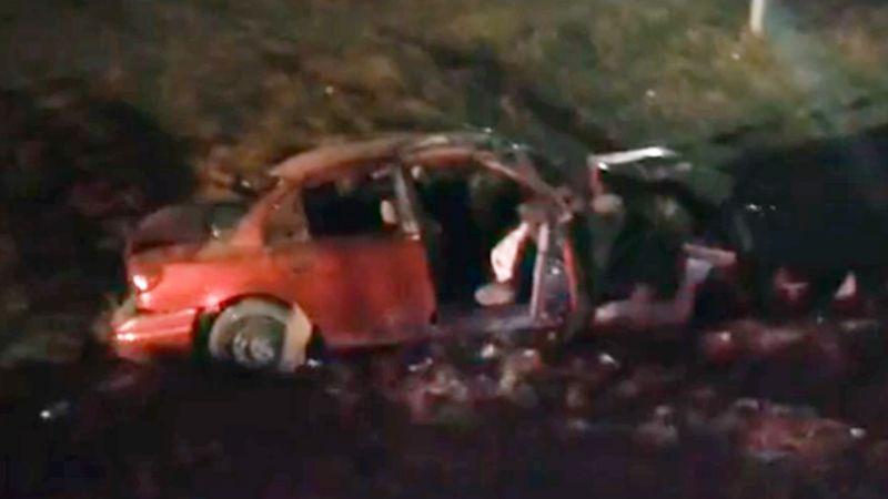 Aparatosa volcadura al sur de Ciudad Obregón manda a cuatro personas al hospital