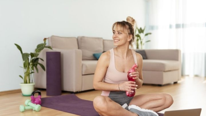 ¡Inimaginable! Ponerte en forma sin moverte es posible con estos sencillos ejercicios