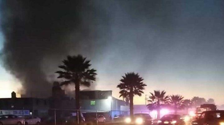 Pánico en Hidalgo: Hospital que atiende pacientes de coronavirus se prende en llamas