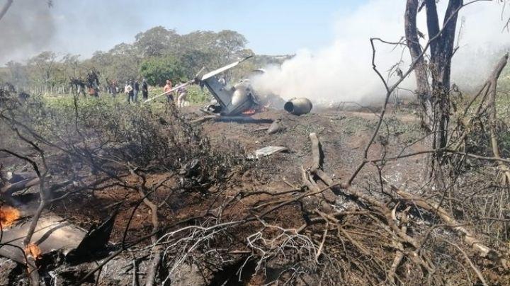 Tragedia en Veracruz: Avioneta se parte en dos y se incendia; mueren 6 pasajeros
