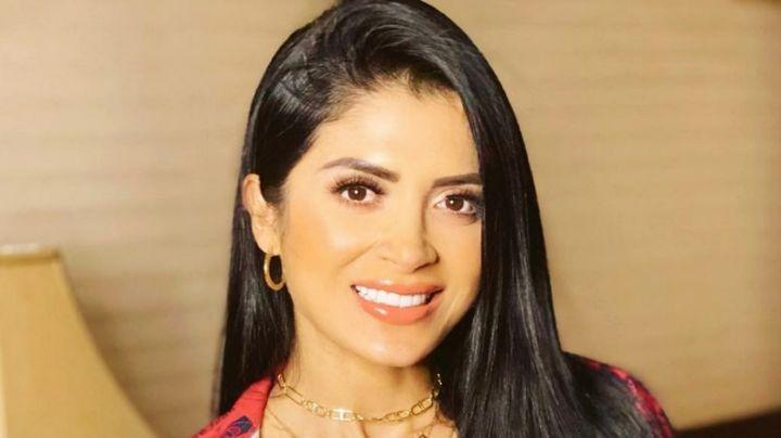 Kimberly Flores, esposa de Edwin Luna, luce tremendo vientre marcado en Instagram