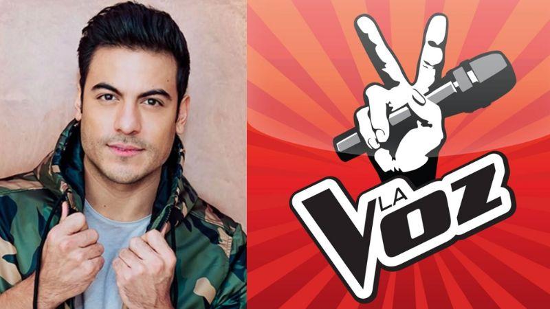 ¿De Televisa a TV Azteca? Carlos Rivera posa junto a coach de 'La Voz' en el escenario