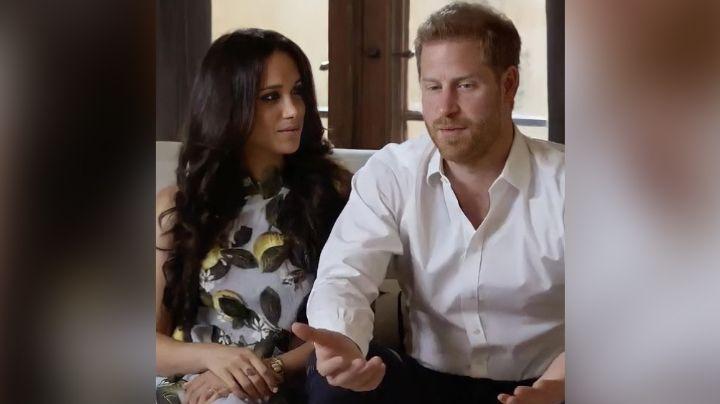 Tras golpe a la Reina Isabel II, Príncipe Harry y Meghan dan nuevas declaraciones en VIDEO