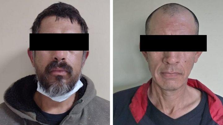 Arrestan a dos 'tiradores' en posesión de marihuana y metanfetamina en Sonora
