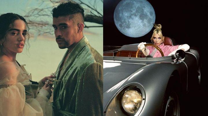 A un lado Bad Bunny: Dua Lipa 'derriba' al cantante y así lo presume en Instagram