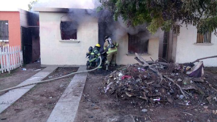 ¡Inconsciencia ciudadana! Incendios de maleza y baldíos se incrementan en Cajeme