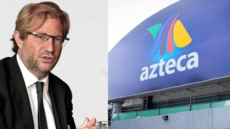 """¿Teme que la despidan? Exhiben a conductora de TV Azteca por callar sobre """"abusos"""" de Roemer"""