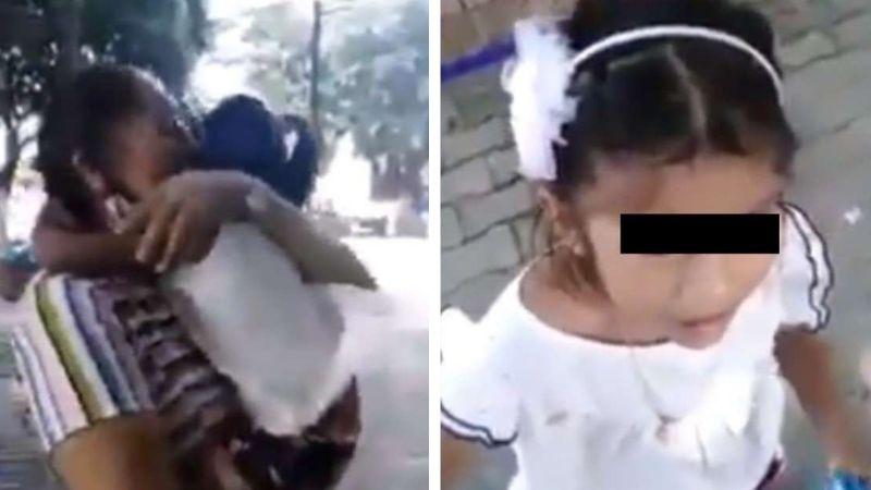 VIDEO: Niña es arrebatada de su mamá adoptiva para devolverla a sus padres biológicos