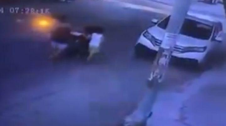 VIDEO: Momento en el que auto pasa por encima de Litzi Sayuri, de 4 años; murió al instante