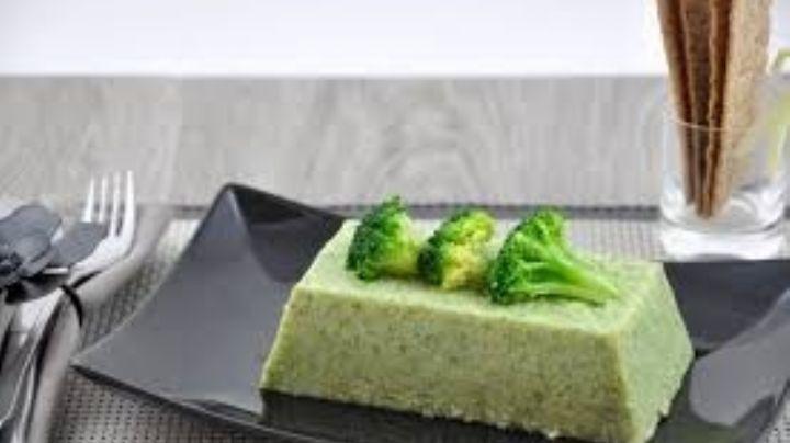 Dale un nuevo toque a tus comidas con este innovador mousse de brócoli