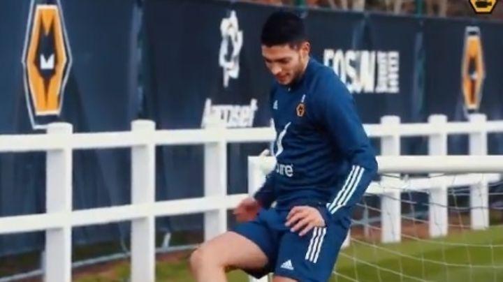 """Raúl Jiménez se ilusiona con su regreso a la manada de los Wolves: """"Un paso más"""""""