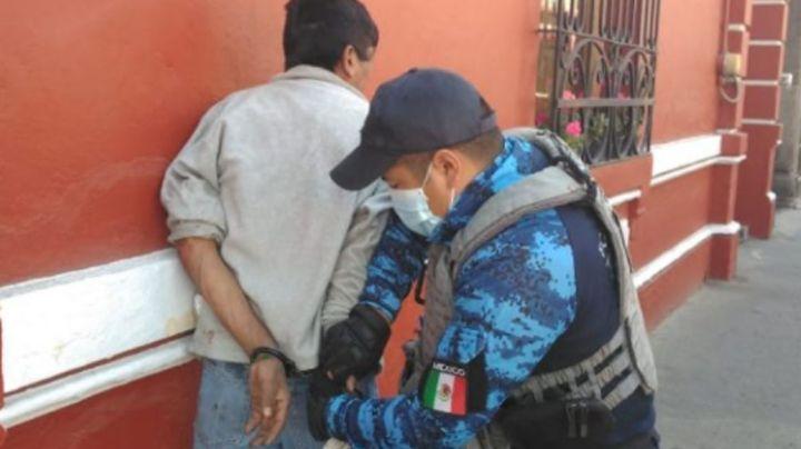 ¡Justicia por mano propia! Ante ausencia de policías, vecinos detienen a descarado ladrón