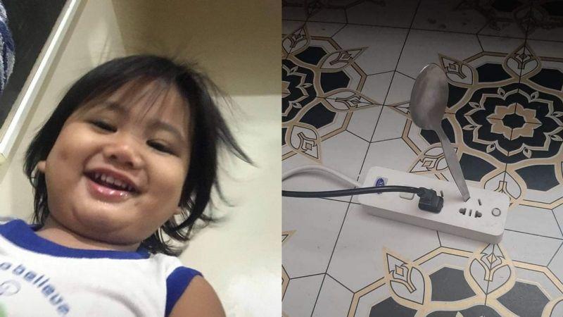 Trágico accidente: Niño muere electrocutado tras meter una cuchara de metal en enchufe