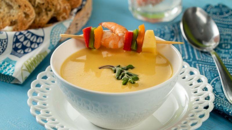 Experimenta con tus dotes culinarios en esta cuaresma gracias a esta crema de camarón