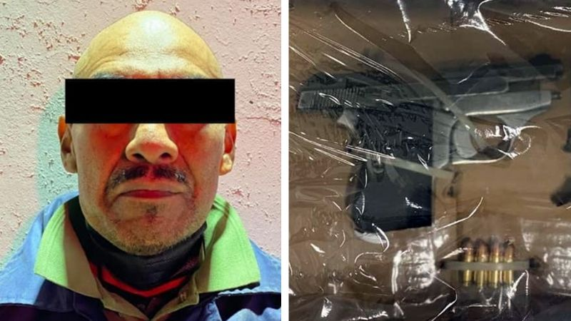 Sonora: Arrestan a supuesto sicario armado en el poblado Miguel Alemán