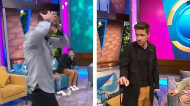"""William Valdés estalla contra 'El Capi' por hacer esto en 'Venga la Alegría': """"Qué mam..."""""""