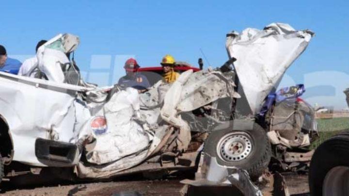 Valle del Yaqui: Hombre se salva de morir prensado tras impactante encontronazo