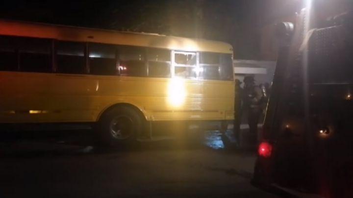 Terror en Sonora: Violencia azota a Empalme; incendian un camión de pasajeros