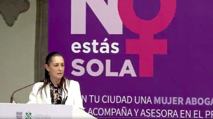CDMX: Claudia Sheinbaum rinde informe sobre acciones para frenar violencia de género