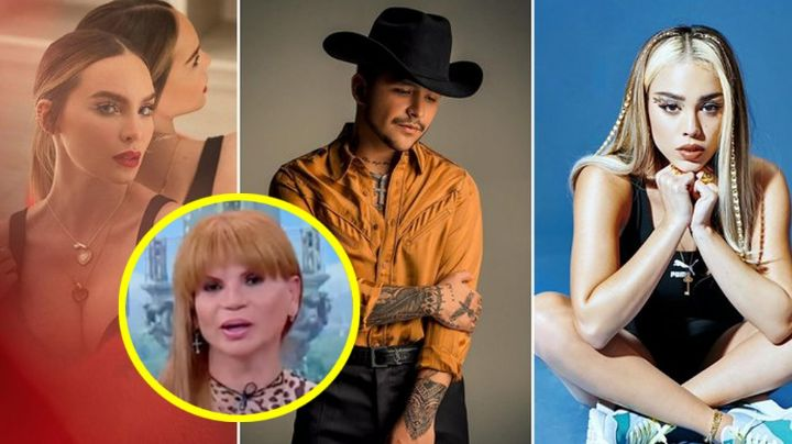 ¿Christian Nodal rechazó dueto con Danna Paola por culpa de Belinda? Mhoni Vidente lo aclara