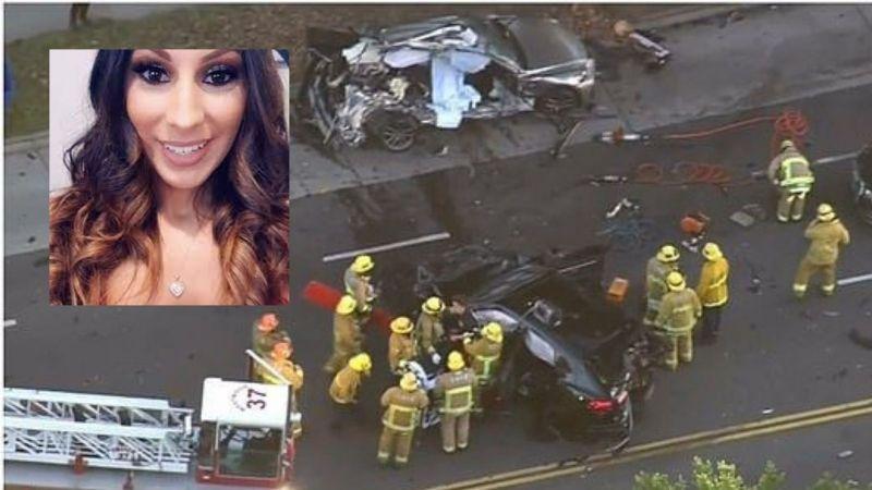 ¡Fatal accidente! Adolescente que iba a 192 kph en unLamborghini mata a una mujer