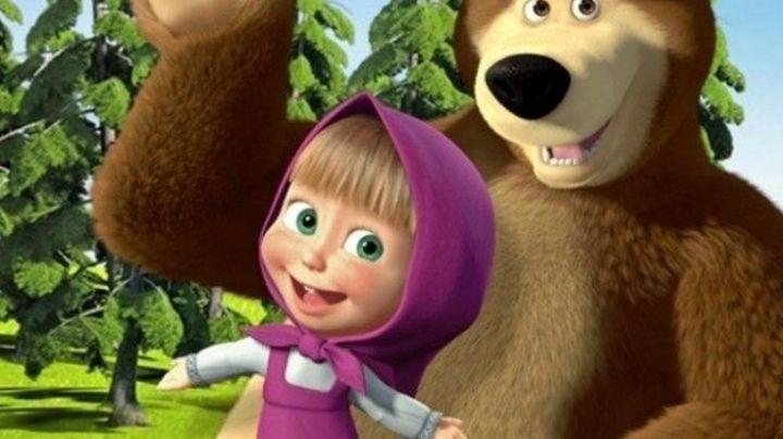 ¿Tu hija ama a 'Masha y el Oso'? Aprende a improvisar un vestido como el de la protagonista
