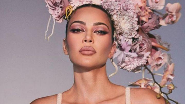 A sus 40 años, Kim Kardashian se deja ver más guapa que nunca mientras toma el sol