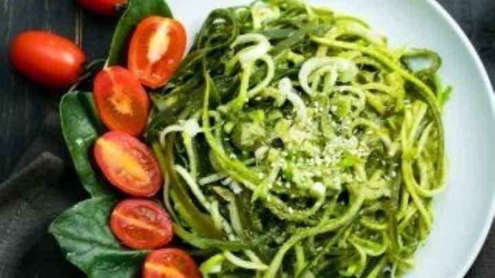 ¿Pasta saludable? Haz tus comidas 'fitness' con este espagueti de calabaza