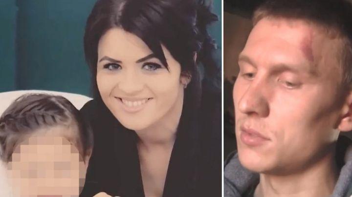 De pesadilla: A Marina la mató su esposo a puñaladas y quemó viva a su hija; estaba embarazada