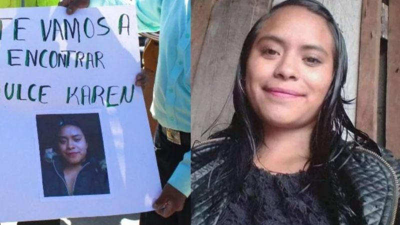 Tragedia: Dulce Karen desapareció y un mes después la hallan muerta; su ex la golpeaba