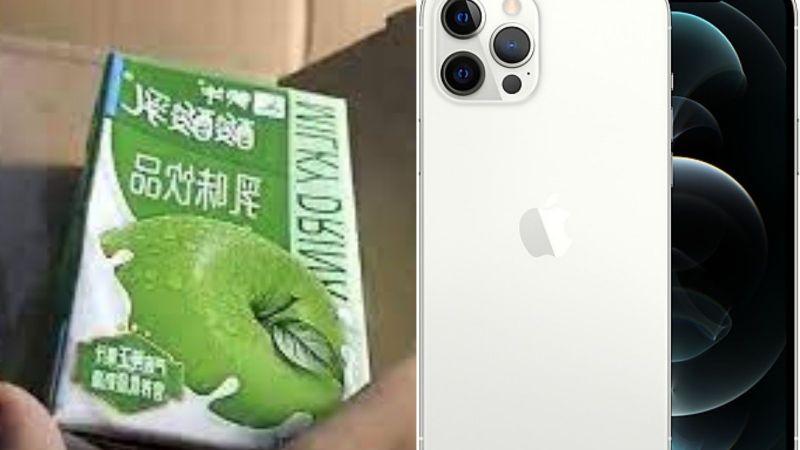 Mujer paga 32 mil pesos por iPhone 12 en Apple y recibe este terrible paquete