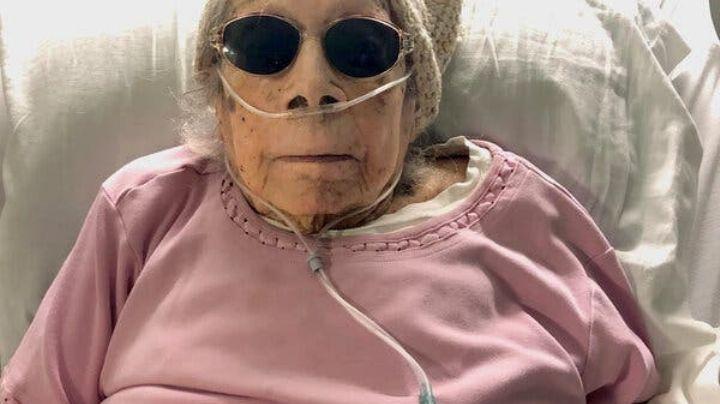 ¡Impactante historia! Mujer de 105 años sobrevive al Covid-19 y revela cuál fue su secreto