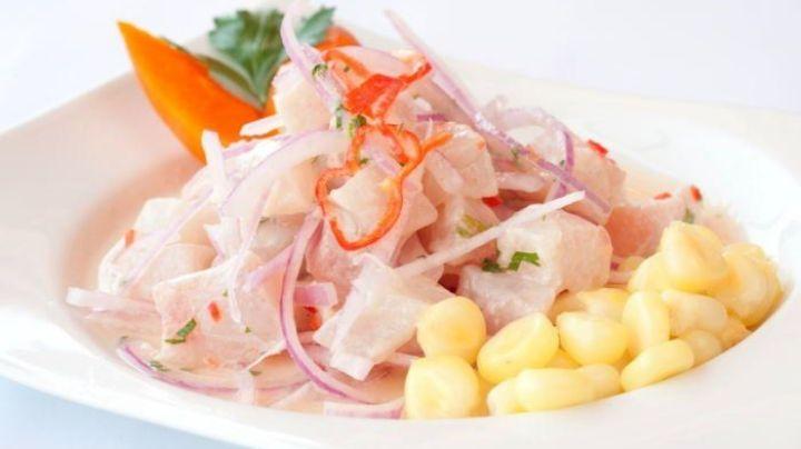 ¡Internacional y delicioso! Disfruta de este exquisito ceviche peruano ideal para Cuaresma