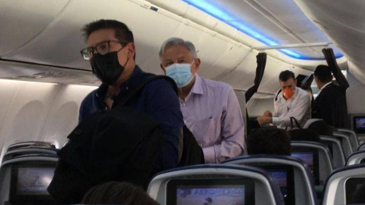 Pasajeros organizan porra para insultar a AMLO durante un vuelo de Guadalajara a la CDMX