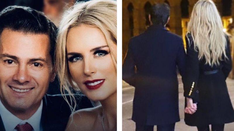 ¡Boda en puerta! Tania Ruiz, novia de Peña Nieto, presume en Instagram pedida de matrimonio