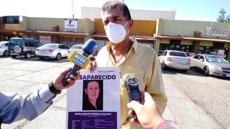 Tras desaparición de joven chofer de Didi, familiares y amigos se manifiestan en Sonora