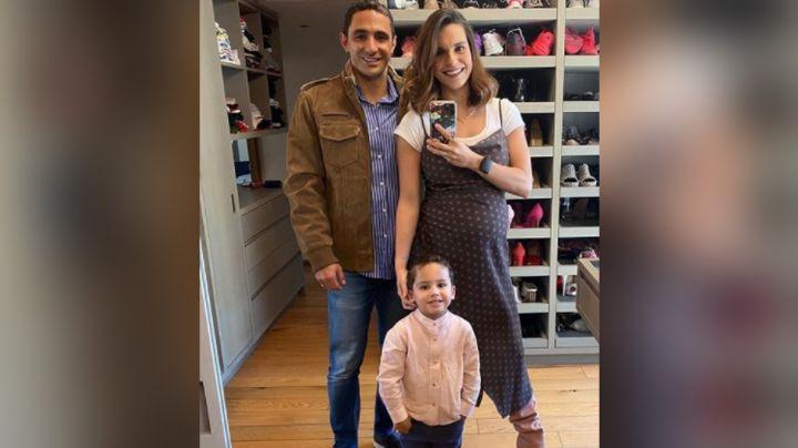 Lo más tierno del día: Tania Rincón publica la primera foto familiar de Amelia en Instagram