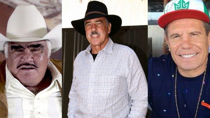 Antes de morir, Andrés García desea reencontrarse con Vicente Fernández y Julio César Chávez
