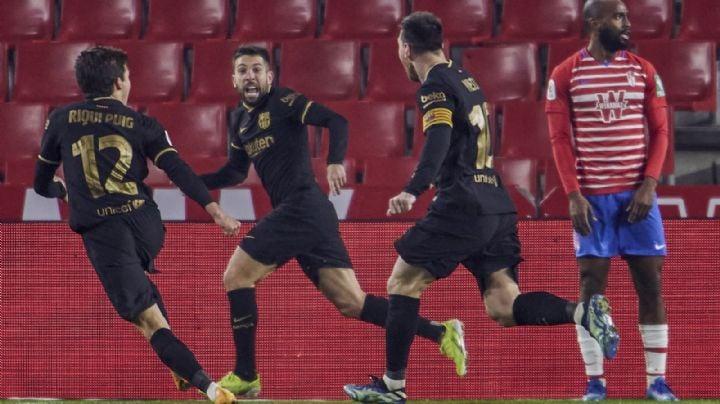 Remontada de locura del Barcelona y avanza a semifinales de la Copa del Rey