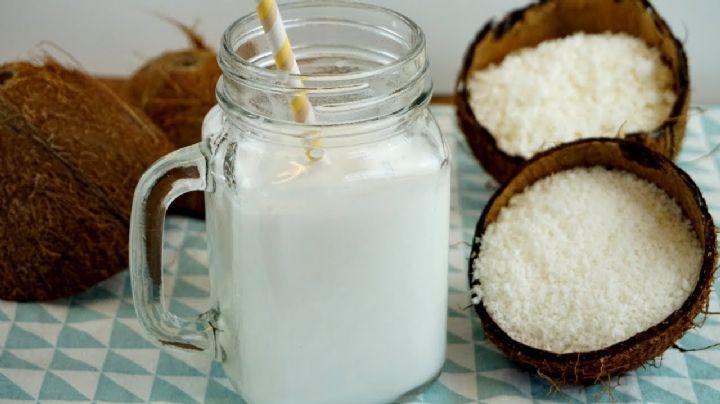 ¿Eres intolerante a la lactosa? Esta leche de coco es una excelente alternativa para ti