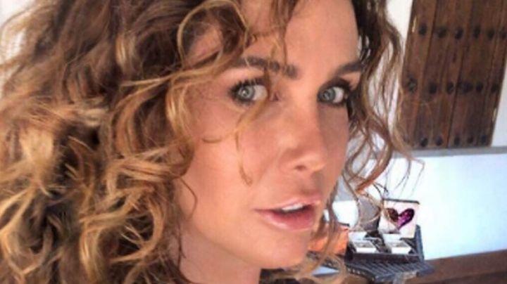 """¿Nuevo Galán? Sabine Moussier asegura que pasará San Valentín """"bien apapachada"""""""