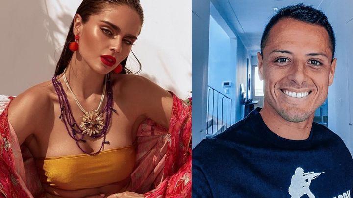 """""""No inventen"""": Lourdes Motta rompe el silencio sobre su relación con 'Chicharito'"""