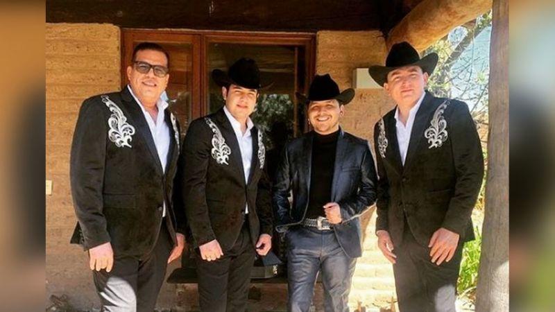 """""""Ya sáquenlo"""": Fans reaccionan a la colaboración de Los Plebes del Rancho con Nodal"""