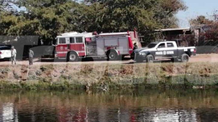 Cajeme: Cae un hombre a las aguas del Canal Bajo en Las Areneras