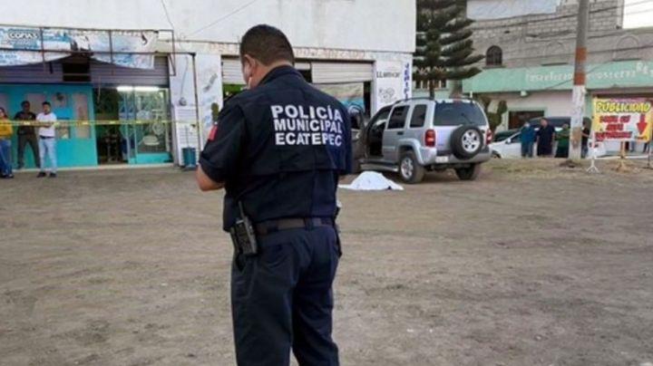 Hombre es asesinado a balazos al salir de una tienda de autoestéreos en Edomex