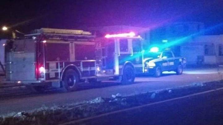 Tragedia en Empalme: Mujer muere calcinada dentro de su vivienda incendiada