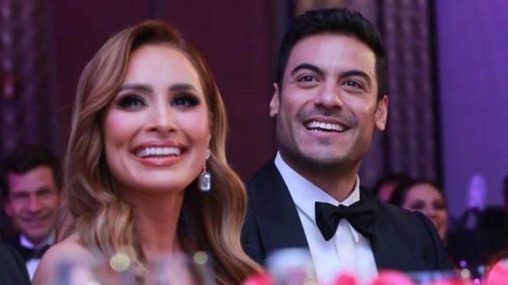 """""""¡Que inventen!"""": Cynthia Rodríguez habla por primera vez de su noviazgo con Carlos Rivera"""