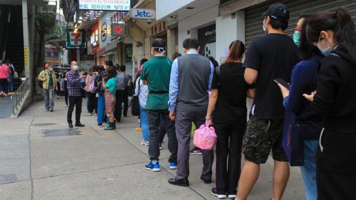 ¡Precaución! Reportan inmensas filas para tramitar la credencial de elector en INE
